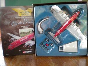 Corgi Classic Vickers Viscount Parcelforce