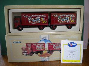 corgi classics aec mercury truck & trailer j-ayers