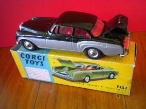 corgy toys bentley continental
