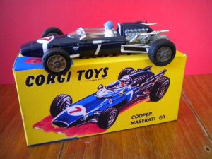 Corgy toys Cooper Maserati