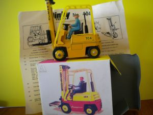 Dinky 404 Conveyancer fork lift truck