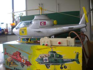 elicottero a pila anni 60-70