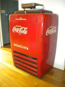 frigorifero Majestic Coca cola